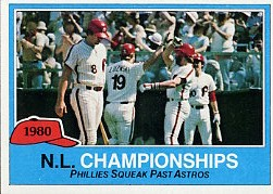 1981 Topps Baseball Cards      402     NL Champs