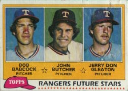 1981 Topps Baseball Cards      041      Bob Babcock/John Butcher/Jerry Don Gleaton RC