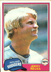1981 Topps Baseball Cards      440     Jerry Reuss