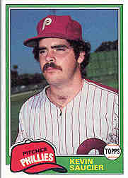 1981 Topps Baseball Cards      053      Kevin Saucier