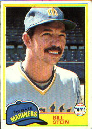 1981 Topps Baseball Cards      532     Bill Stein