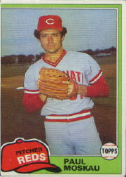 1981 Topps Baseball Cards      546     Paul Moskau