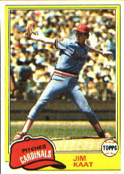 1981 Topps Baseball Cards      563     Jim Kaat