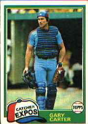 1981 Topps Baseball Cards      660     Gary Carter