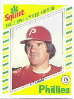 1982 Squirt Baseball Cards