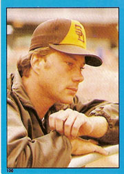 1982 Topps Baseball Stickers     100     Terry Kennedy
