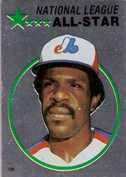 1982 Topps Baseball Stickers     125     Andre Dawson FOIL