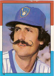 1982 Topps Baseball Stickers     016      Rollie Fingers LL