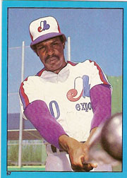 1982 Topps Baseball Stickers     057      Andre Dawson