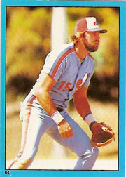 1982 Topps Baseball Stickers     064      Larry Parrish