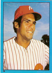 1982 Topps Baseball Stickers     076      Manny Trillo