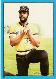 1982 Topps Baseball Stickers     087      Dave Parker