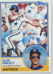 1983 Topps      117     Alan Knicely
