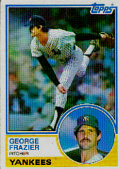 1983 Topps      123     George Frazier