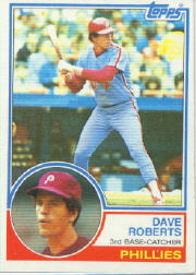 1983 Topps      148     Dave Roberts