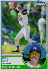 1983 Topps      015      Ron Cey