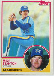 1983 Topps      159     Mike Stanton