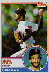 1983 Topps      162     Mark Clear