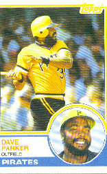 1983 Topps      205     Dave Parker