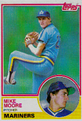 1983 Topps      209     Mike Moore RC