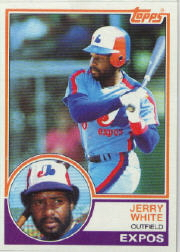 1983 Topps      214     Jerry White