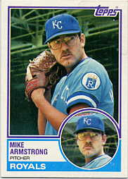 1983 Topps      219     Mike Armstrong