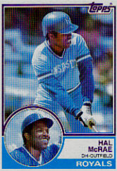 1983 Topps      025      Hal McRae