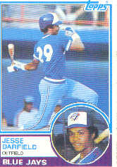 1983 Topps      257     Jesse Barfield