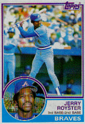1983 Topps      026      Jerry Royster