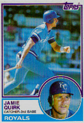 1983 Topps      264     Jamie Quirk