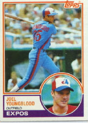 1983 Topps      265     Joel Youngblood