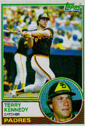 1983 Topps      274     Terry Kennedy