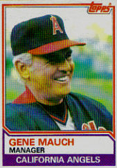 1983 Topps      276     Gene Mauch MG