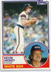 1983 Topps      278     Kevin Hickey