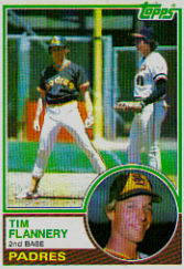 1983 Topps      038      Tim Flannery