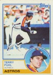 1983 Topps      039      Terry Puhl