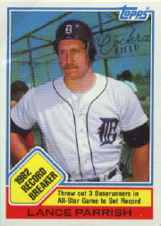 1983 Topps      004      Lance Parrish RB
