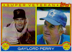 1983 Topps      463     Gaylord Perry