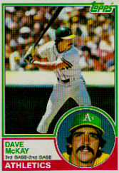 1983 Topps      047      Dave McKay