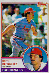 1983 Topps      699     Lee Smith