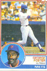 1983 Topps      080      George Foster