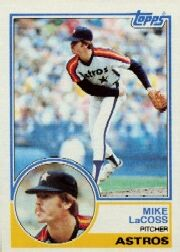 1983 Topps      092      Mike LaCoss