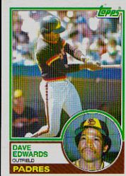 1983 Topps      094      Dave Edwards