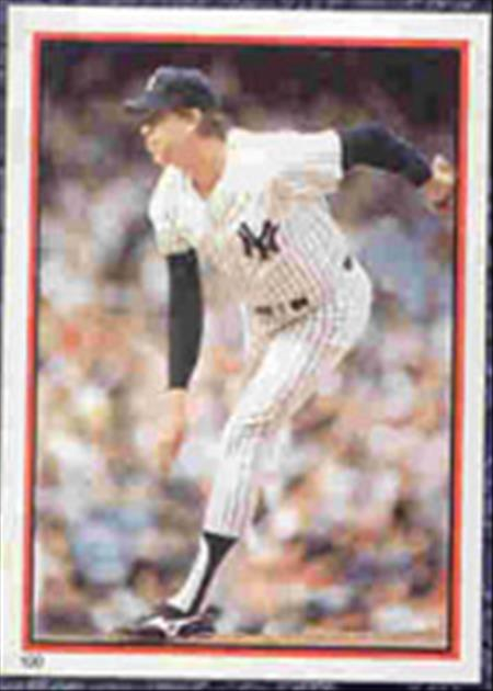 1983 Topps Baseball Stickers     100     Rich Gossage