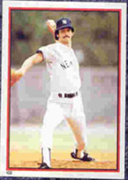 1983 Topps Baseball Stickers     102     Ron Guidry