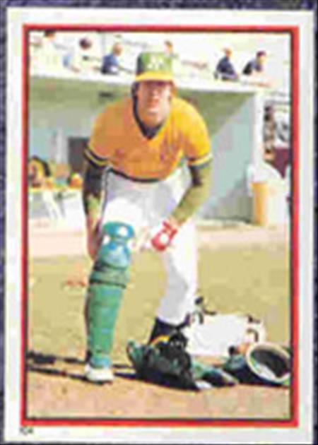 1983 Topps Baseball Stickers     104     Mike Heath
