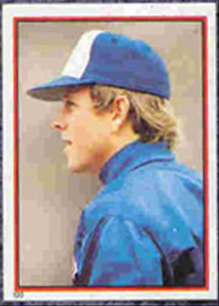1983 Topps Baseball Stickers     133     Barry Bonnell