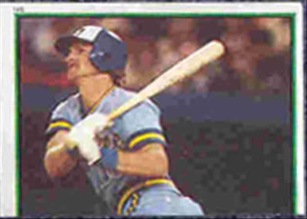 1983 Topps Baseball Stickers     145     Robin Yount RB