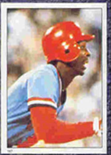 1983 Topps Baseball Stickers     147     Willie McGee LCS RC