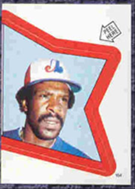 1983 Topps Baseball Stickers     164     Andre Dawson